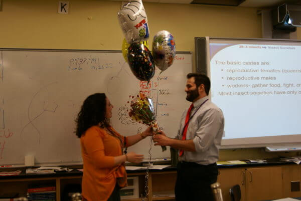 HHS educator Mike Cotto awarded for teaching excellence