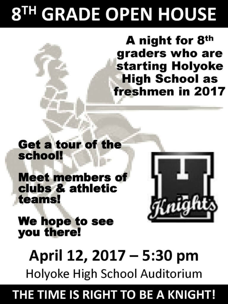 8th grade open house hhs