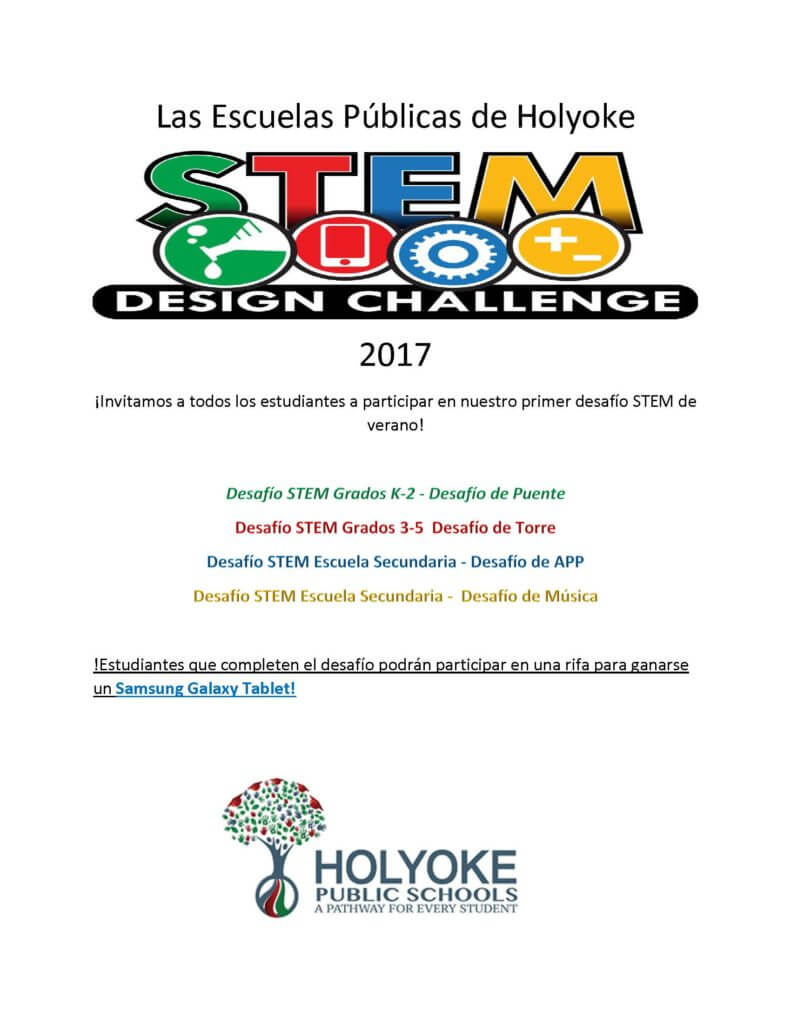 STEM flyer spanish