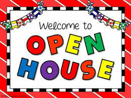 Open House Schedule for all Schools – Save the Dates