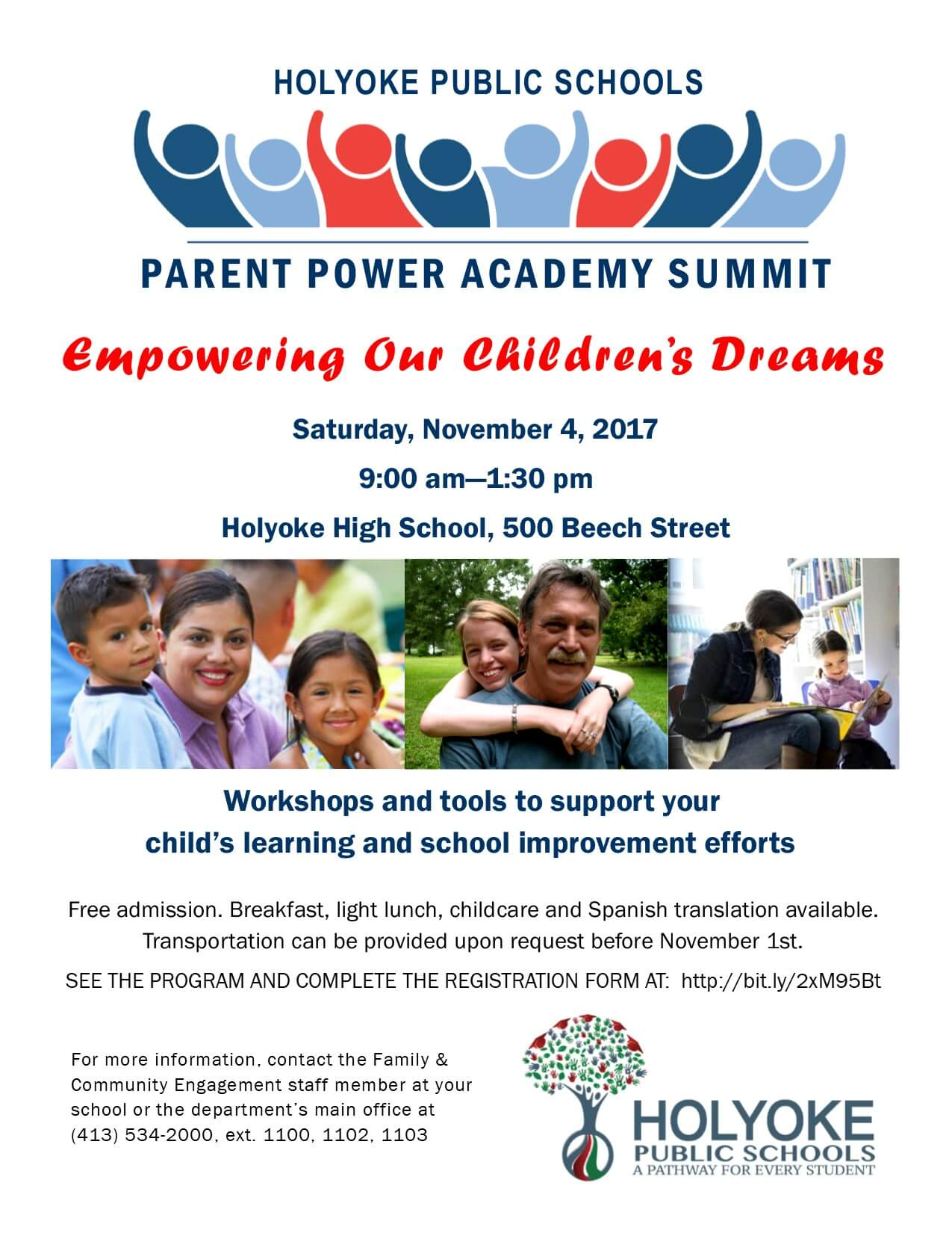 Parent Power Academy flyer