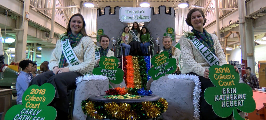 dean colleen float st patrick's day parade