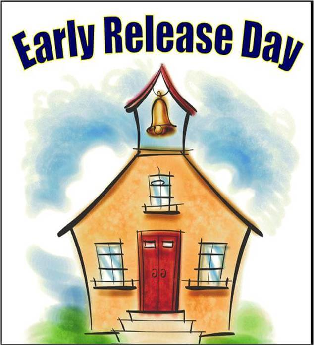 3-Hour Early Release, Wed. March 7, 2018 – See dismissal times…