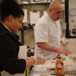 Culinary students at Holyoke High School - Dean Campus