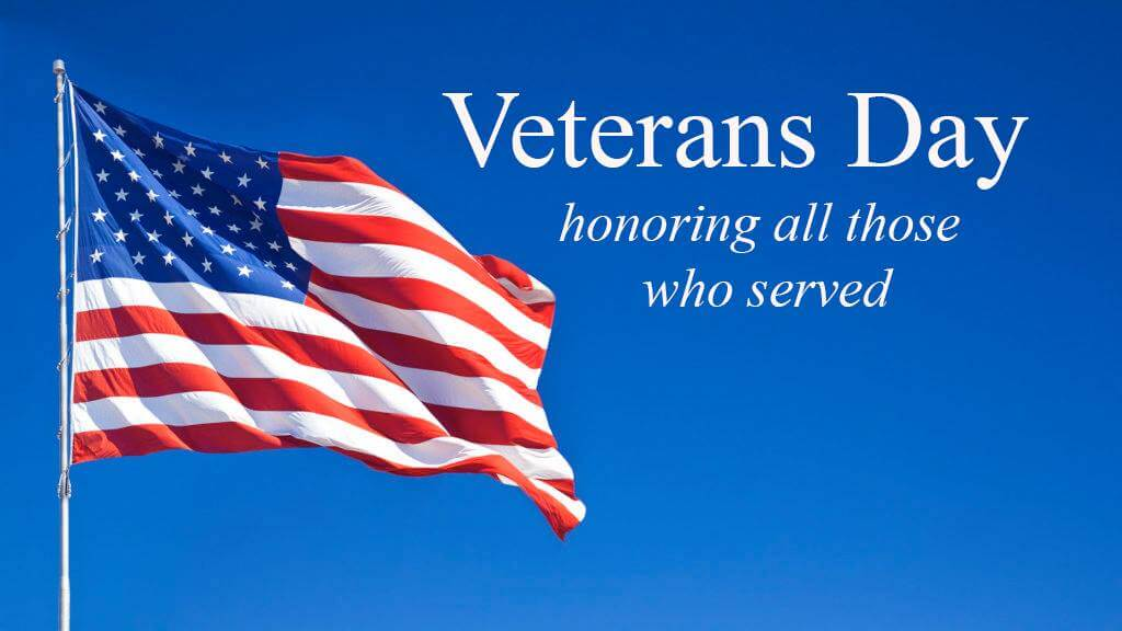 November 12th – HPS Schools and Offices are closed in observance of Veterans Day