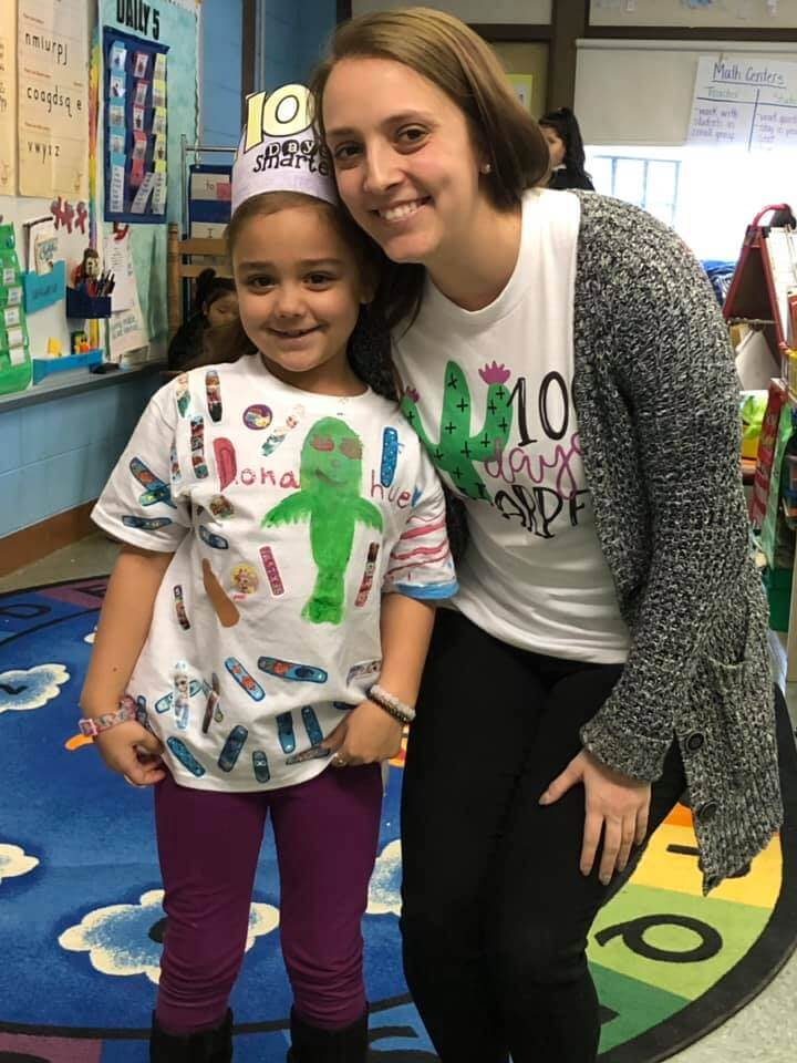 Donahue School 100th Day with Amanda Rae