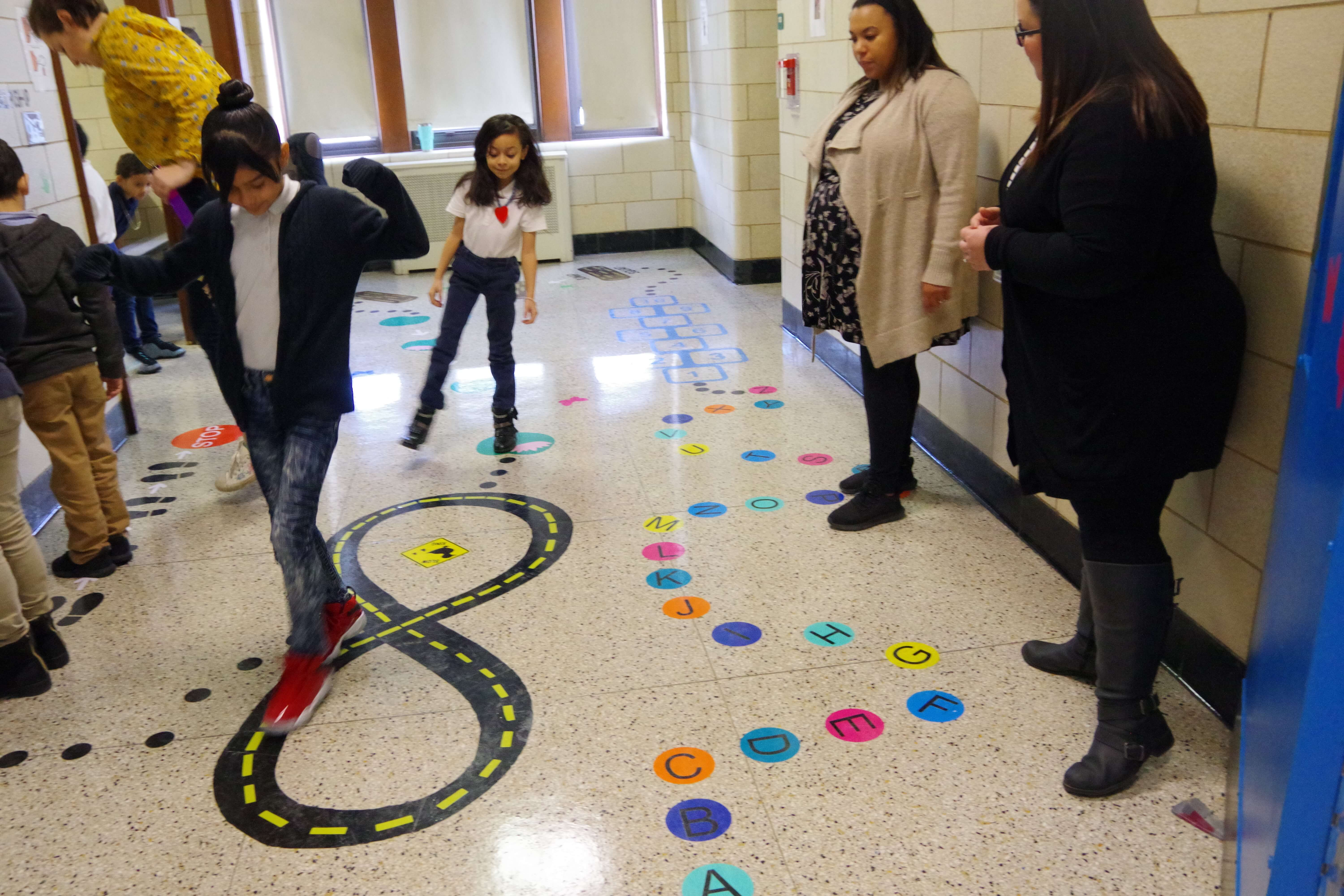 PRESS RELEASE: Lawrence School Unveils Sensory Walk for Students