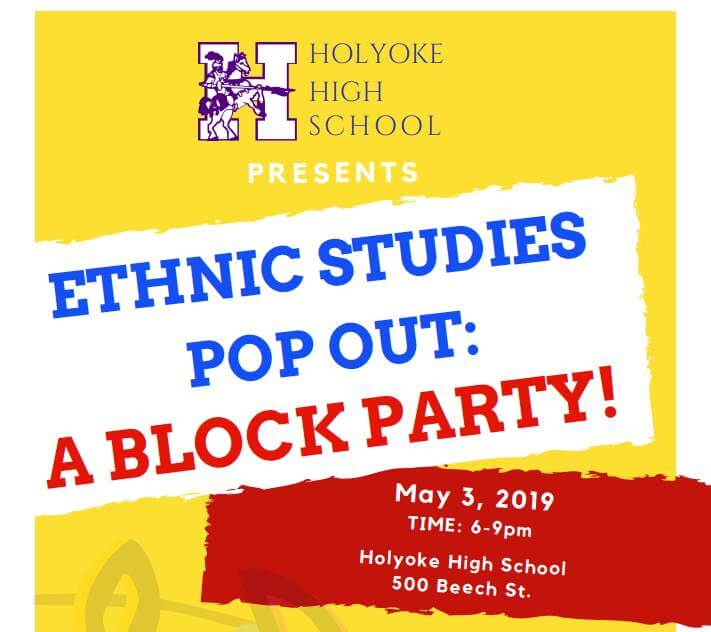 Save the Date – Ethnic Studies Pop Out: A Block Party – May 3rd