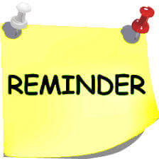 Important Calendar Reminders: Nov. 2nd & 3rd | Recordatorios importantes del calendario: 2 y 3 de noviembre