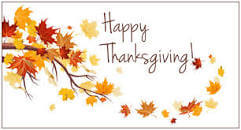 Schools & district offices are closed November 27th- December 1st for Thanksgiving Break.