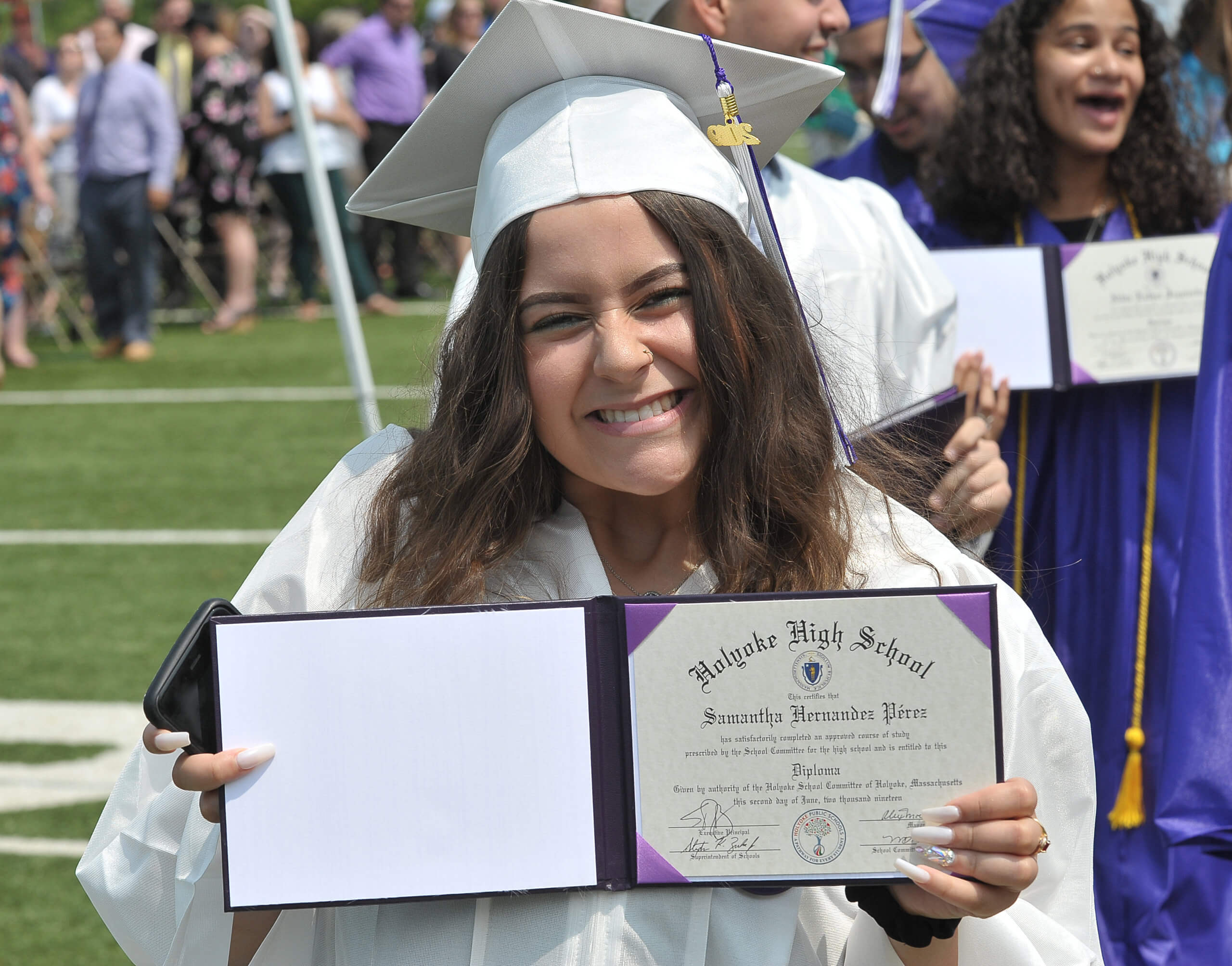 PRESS RELEASE – Holyoke Public Schools dropout rate nearly cut in half and graduation rate improves