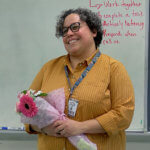 Tania Tapia Pioneer Valley Excellence in Teaching Awardee