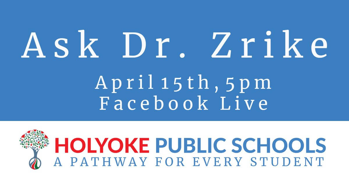 Dr. Zrike's Facebook Live Session 4-15-20