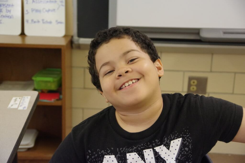 6-12-20 Holyoke Update male middle school student smiling
