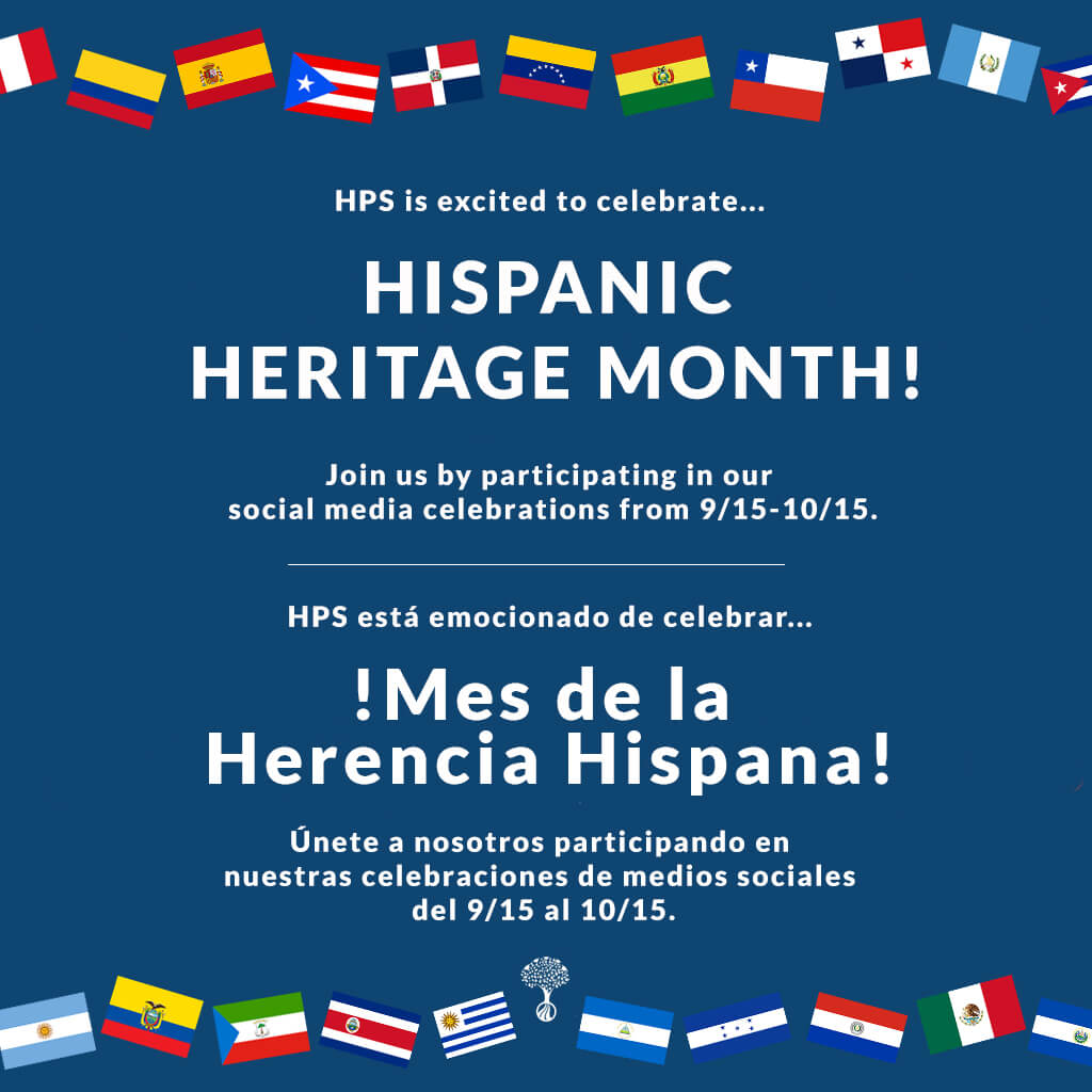 Hispanic Heritage month decorative