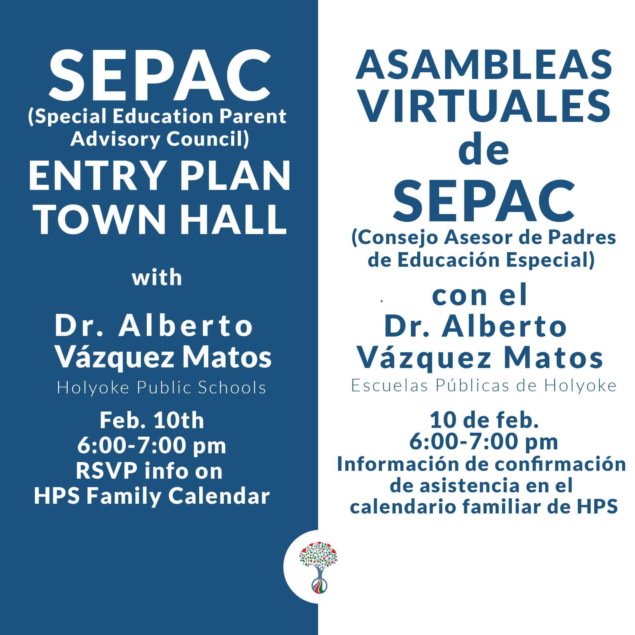 Special Education Parent Advisory Council (SEPAC) Entry Plan Town Hall